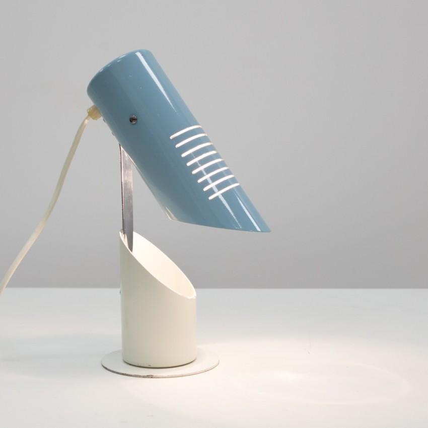 Lampe cylindrique en métal Szarvasi Vas-Fémipari