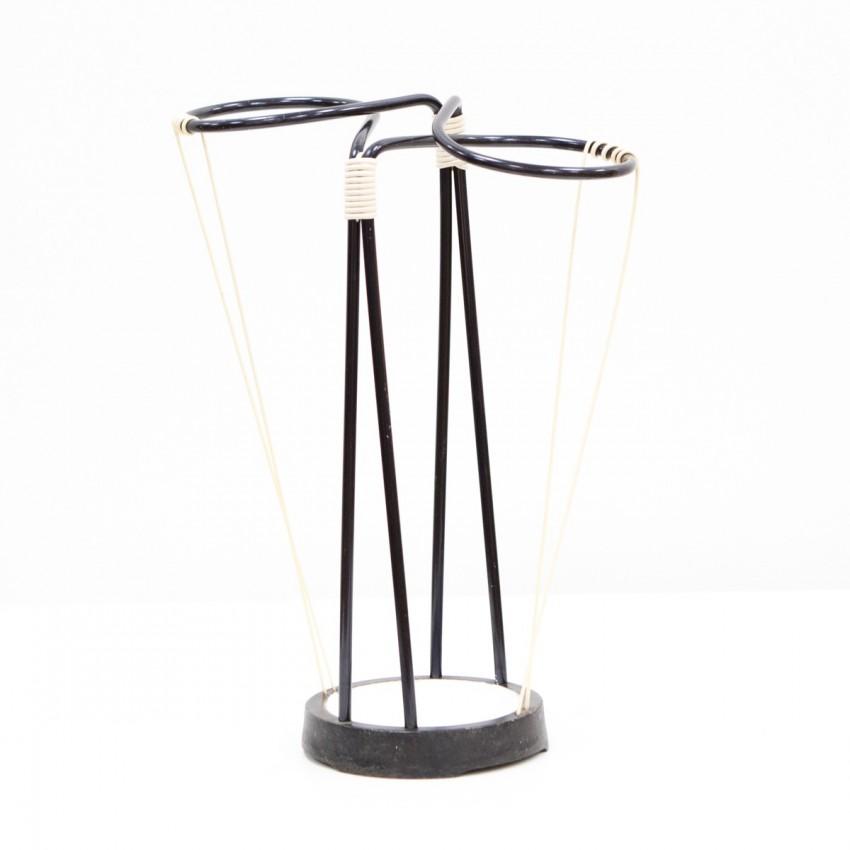 Porte-parapluie métal et Scoubidou