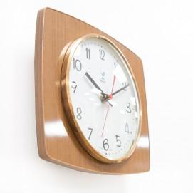 Horloge Jaz transistor - Formica et laiton