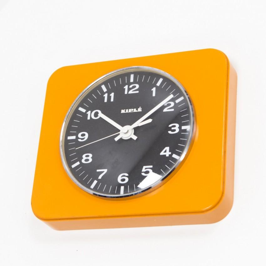 Horloge Kiplé orange