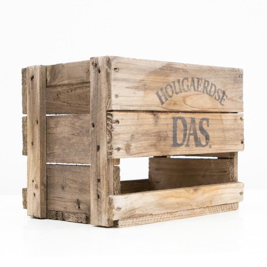 Ancienne caisse à canettes de bière