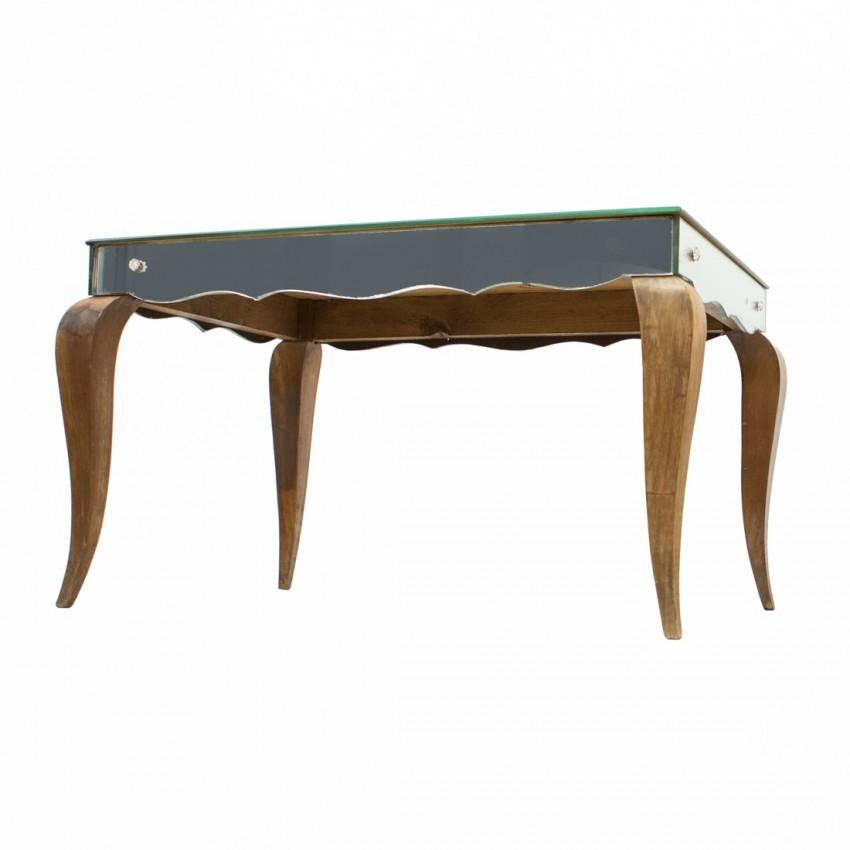 Table basse spéculaire art déco