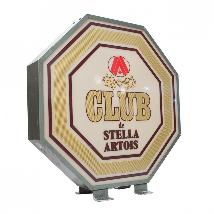 Enseigne lumineuse de bar Club Stella Artois