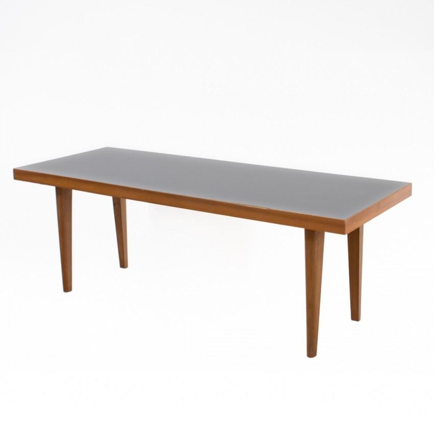 table basse en bois et formica. Black Bedroom Furniture Sets. Home Design Ideas