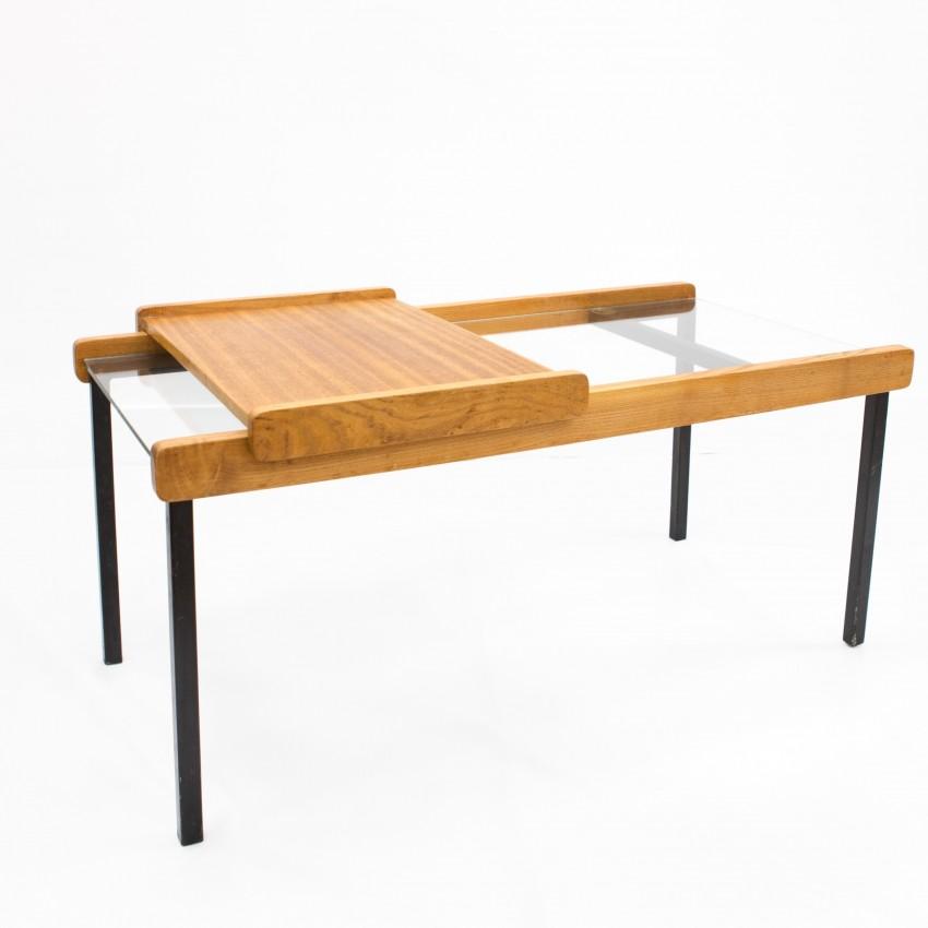 Table basse de l'Atelier de Recherche Plastique éditée par Minvielle en 1955