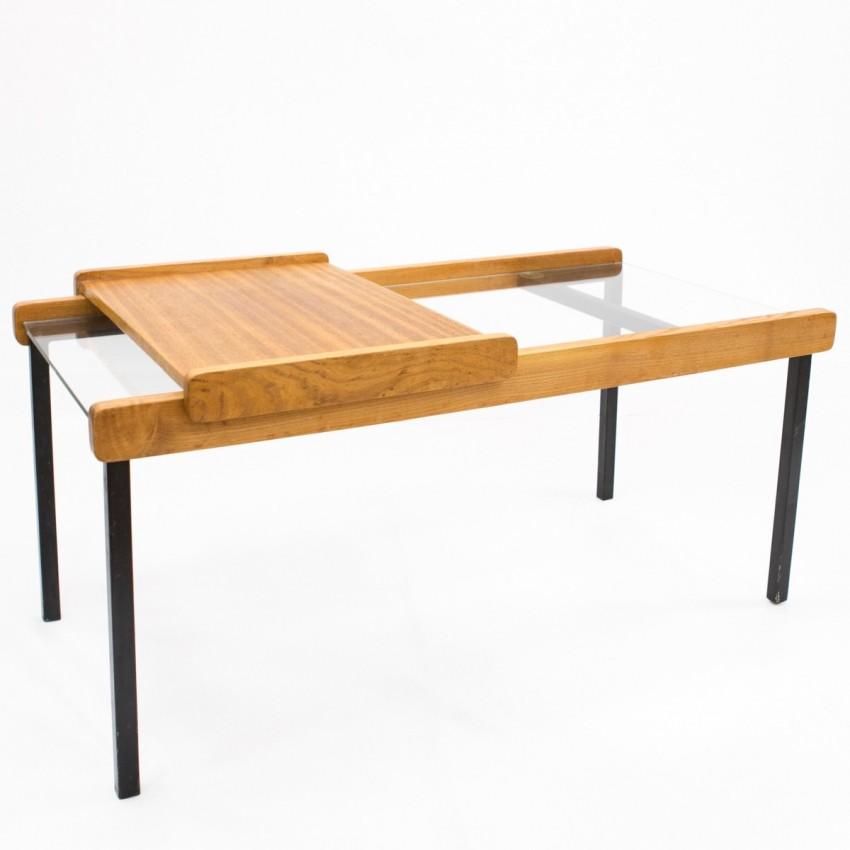 Table basse de l'Atelier de Recherches Plastiques (ARP) éditée par Minvielle en 1955