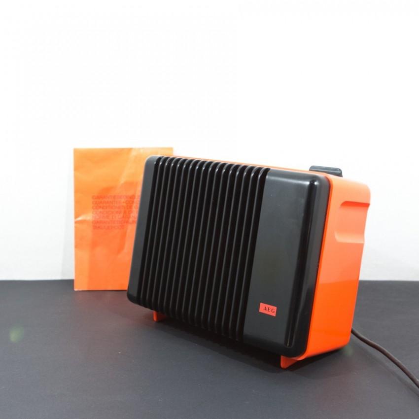 Radiateur vintage orange - AEG-Telefunken - Années 1970