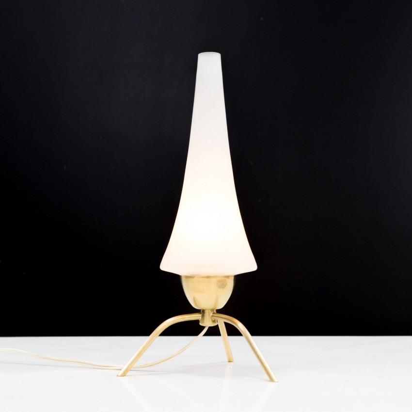 Lampe d'appoint tripode des années 1950