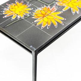 Table basse céramique des années 1960