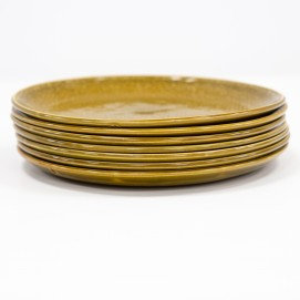 Assiettes Miramar en porcelaine de Salins