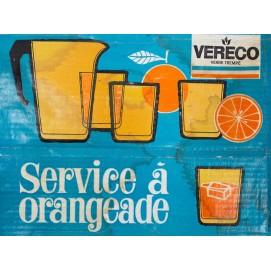 Service à orangeade des années 1970 Vereco
