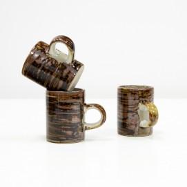 Tasses à café en grés