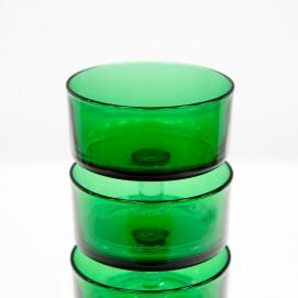 Coupes Luminarc en verre vert