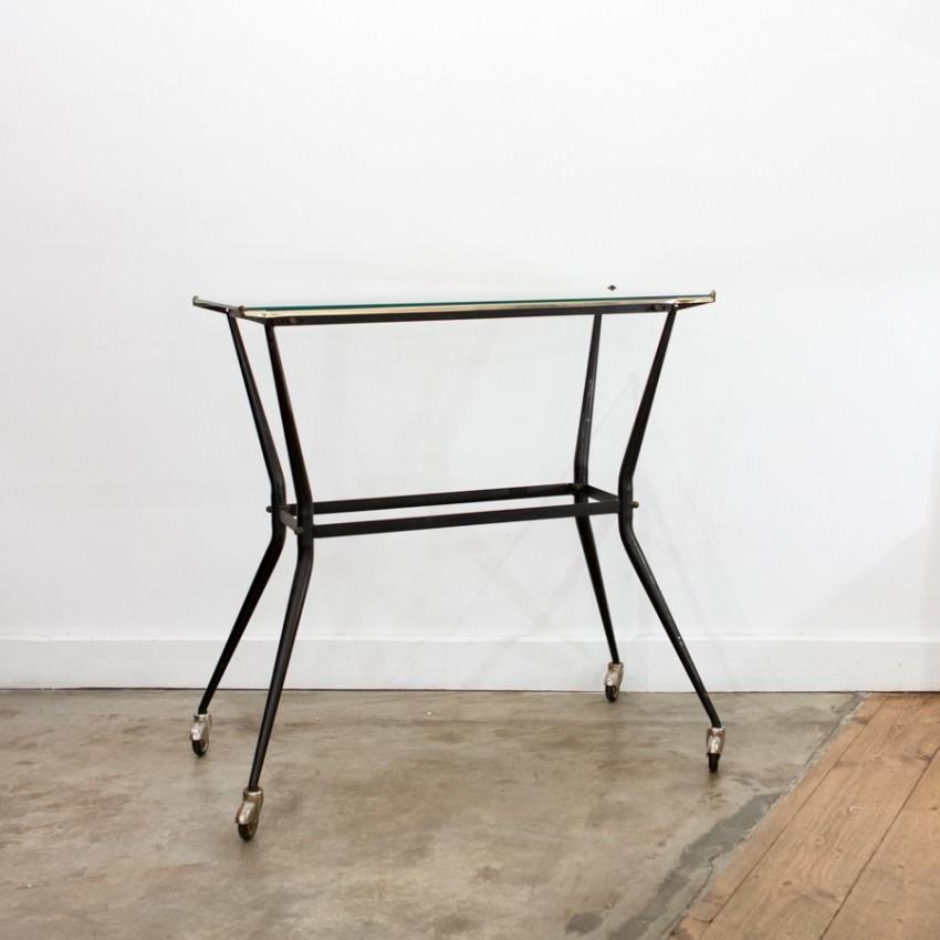console roulettes des ann es 1950. Black Bedroom Furniture Sets. Home Design Ideas