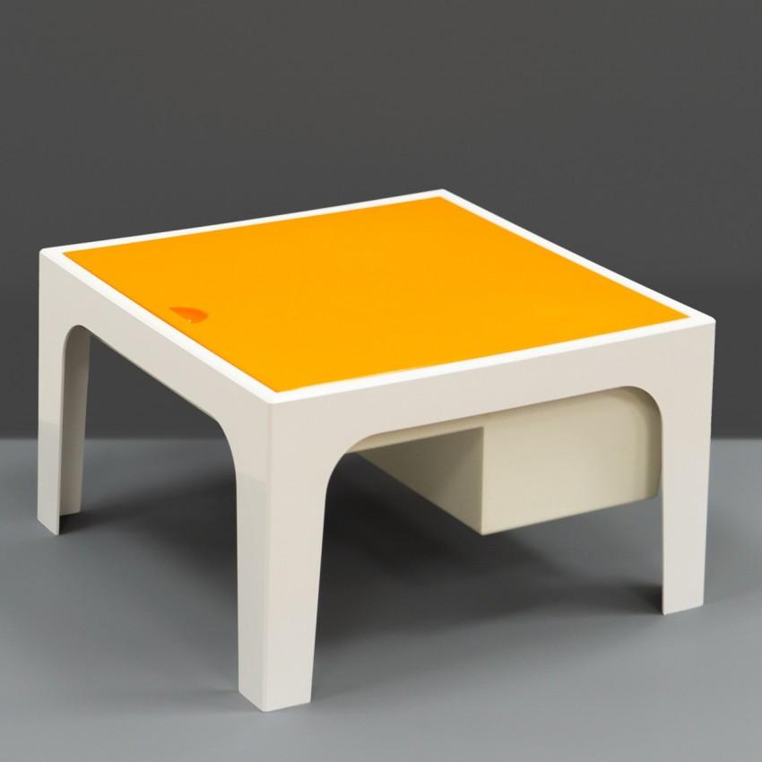Table basse et travailleuse en plastique - Flair