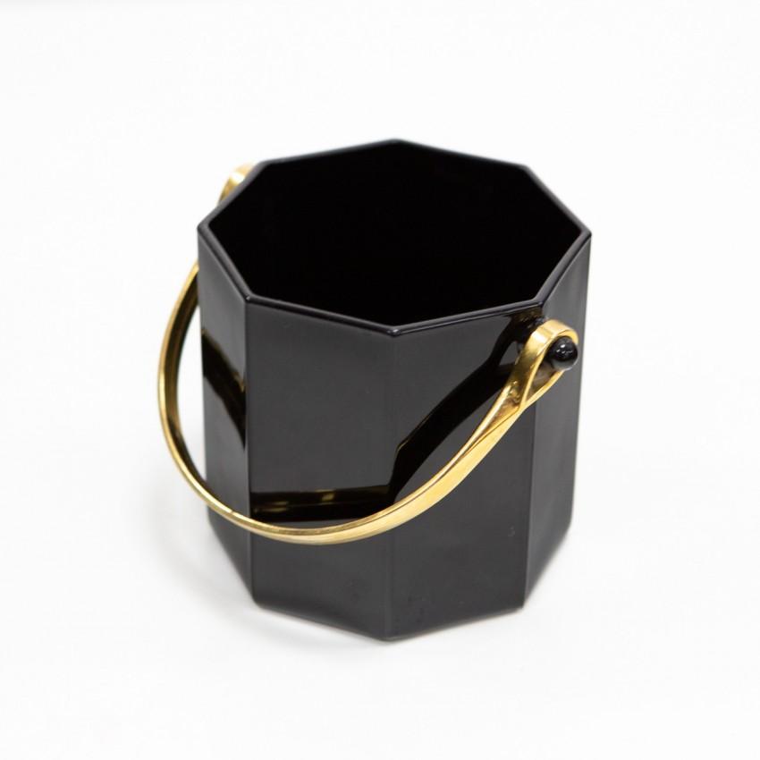 Seau à glaçons noir - Luminarc - Vintage