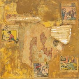 Technique mixte sur toile de Marie Anne Grelier