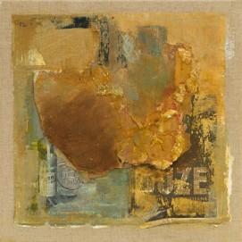 Suze, technique mixte sur toile de Marie Anne Grelier