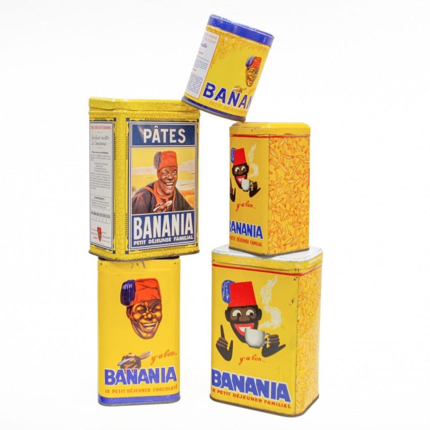 Anciennes boites de Banania