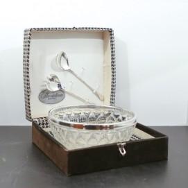 Saladier Sheratonn silverplate