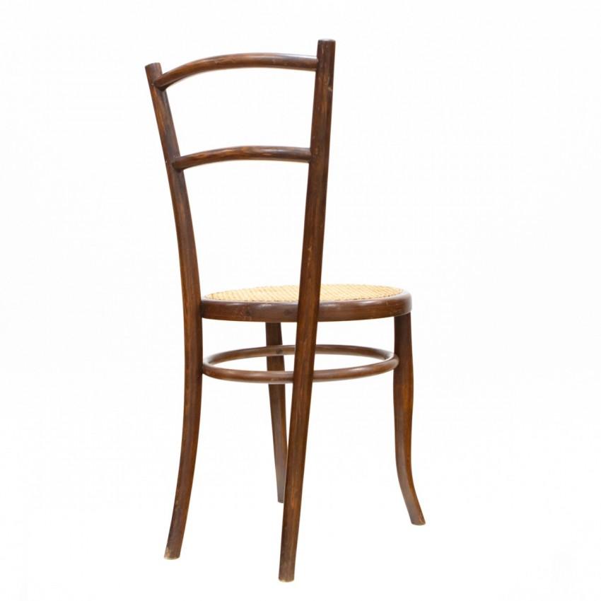 Chaise en bois courbé Ungvarer Mobelfabrik