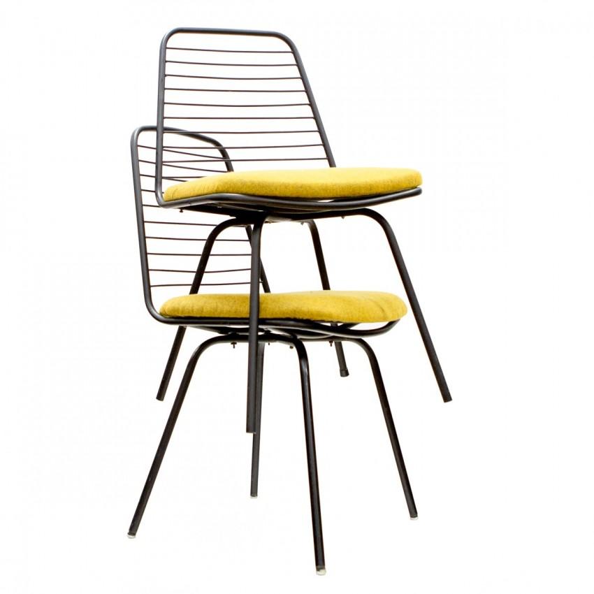Chaises de Georges Robert - GR 190 - Mon Oncle Tati