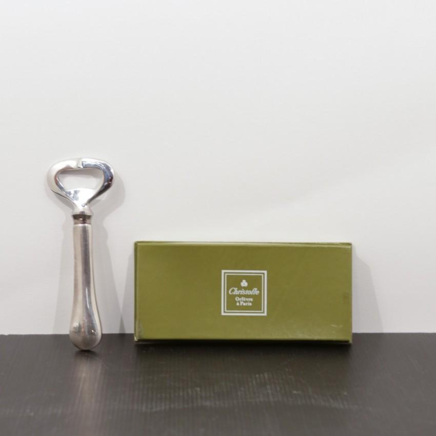 Décapsuleur Christofle en argent - Vintage et utile !