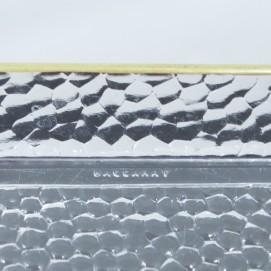 Plateau en cristal de Baccarat