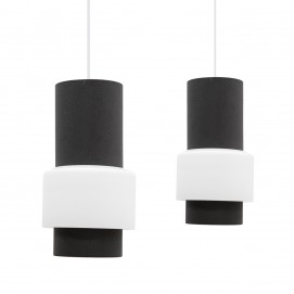 Duo de suspensions cylindriques Philips Lorca