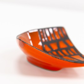 Céramique rouge de Capron - Forme libre