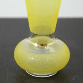 Paire de vases en verre des années 1950