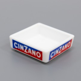 Cendrier Cinzano carré