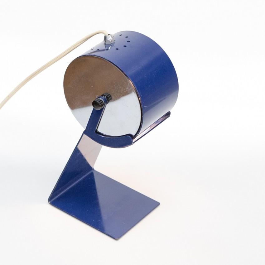 Luminaire italien des années 1960 en tôle pliée