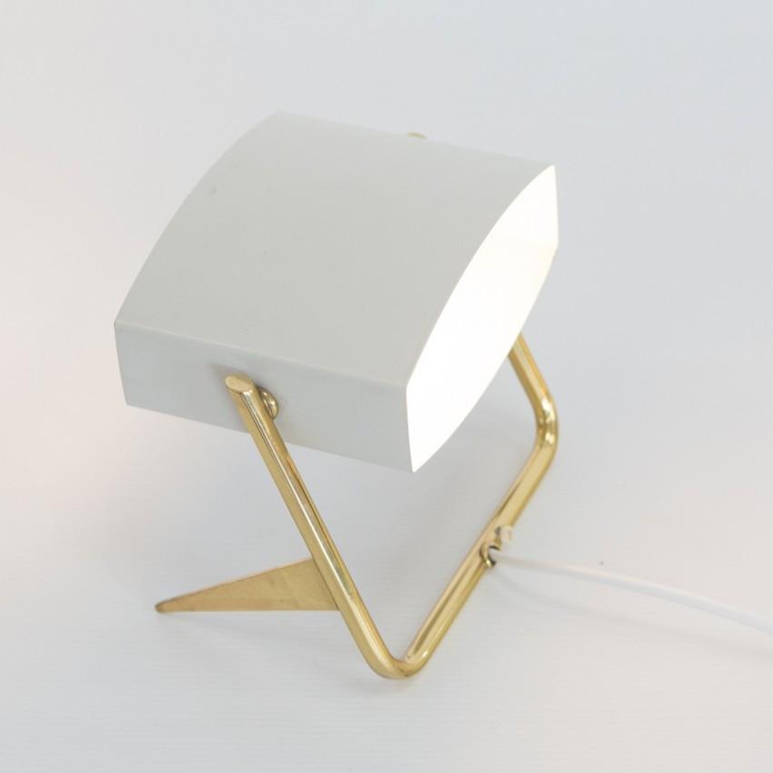 Lampe mobile tripode à spot des années 1950