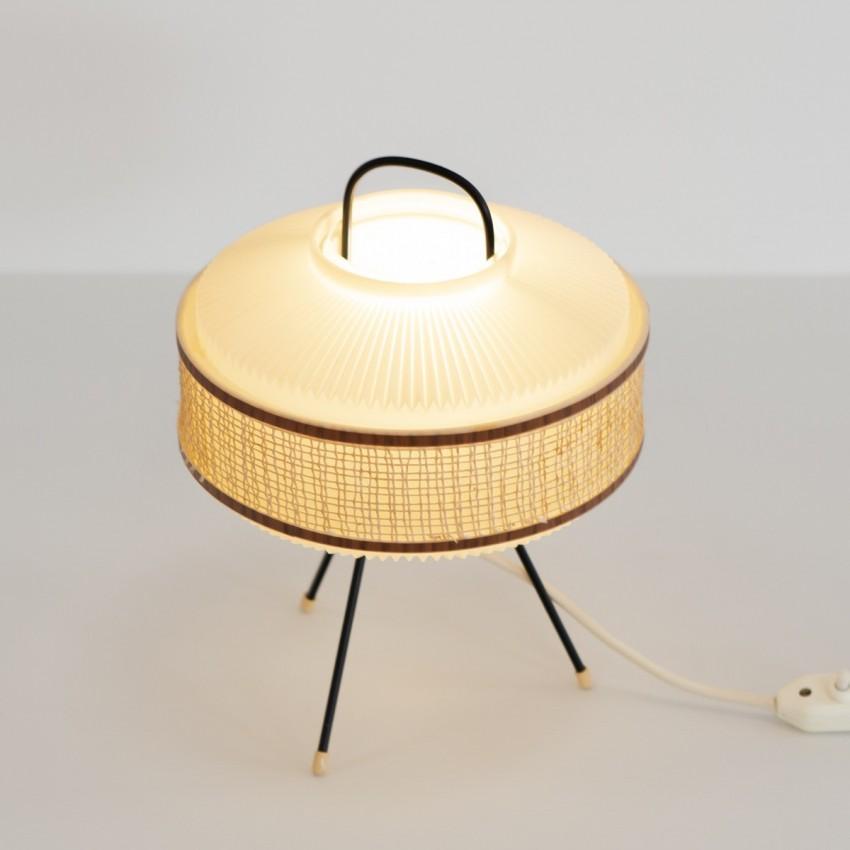 Lampe mobile tripode en résine