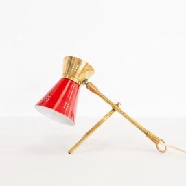 Lampe cocotte diabolo des années 1950