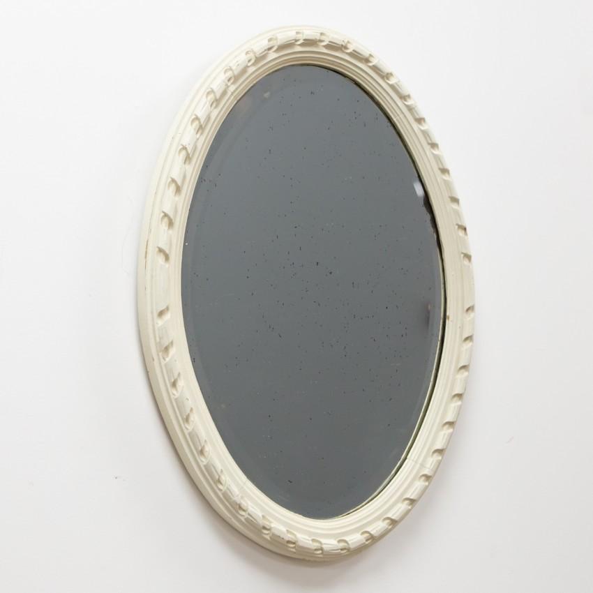 Miroir en bois des années 1960