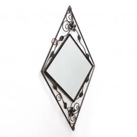 Miroir en fer forgé - Art nouveau