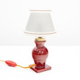 Lampe en céramique de Jean-Marie Radureau (Vallauris)