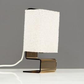 Lampe d'appoint en plexiglas des années 1970