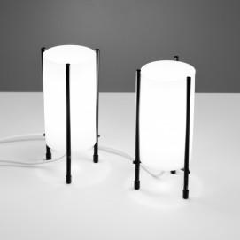 Lampes rocket en plexiglas des années 1960