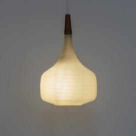 Lampe Rotaflex et bois