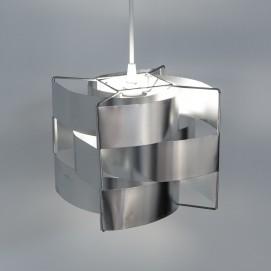Suspension, de Max Sauze, en lamelles d'aluminium