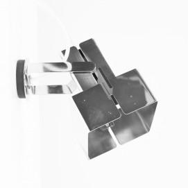 Spot orientable chromé de Max Garnault - Disderot - Années 60