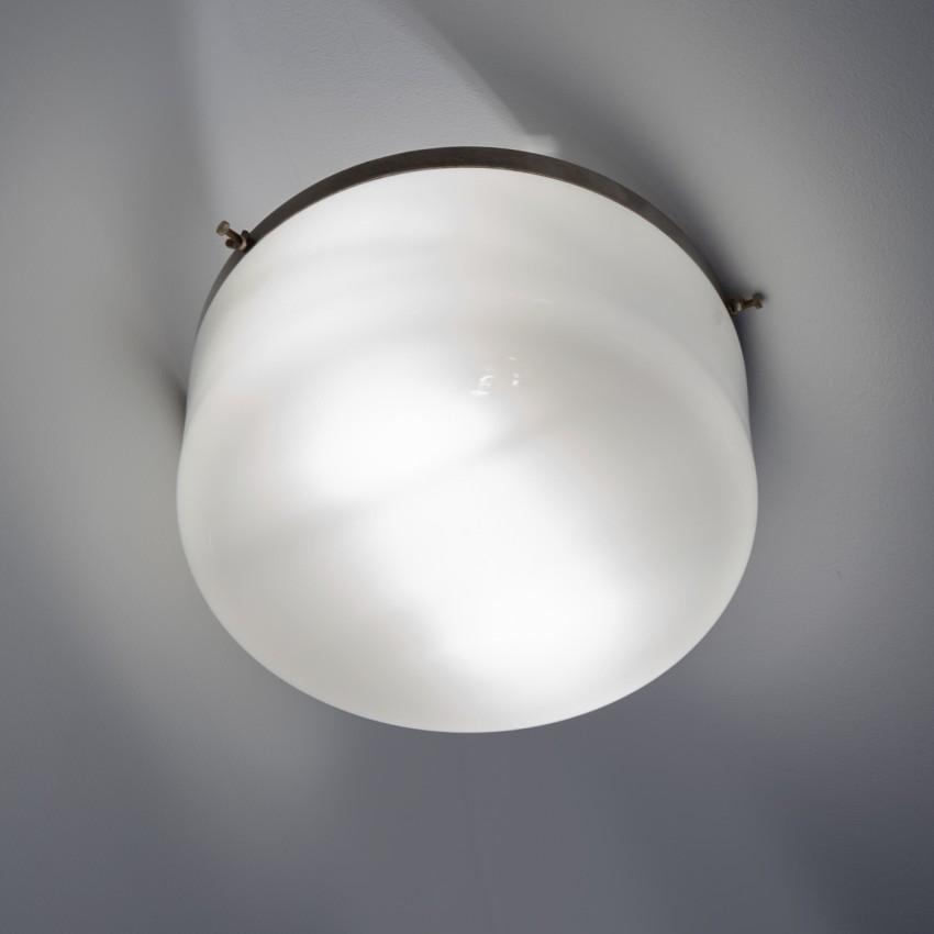 Plafonnier cylindrique Philips en opaline