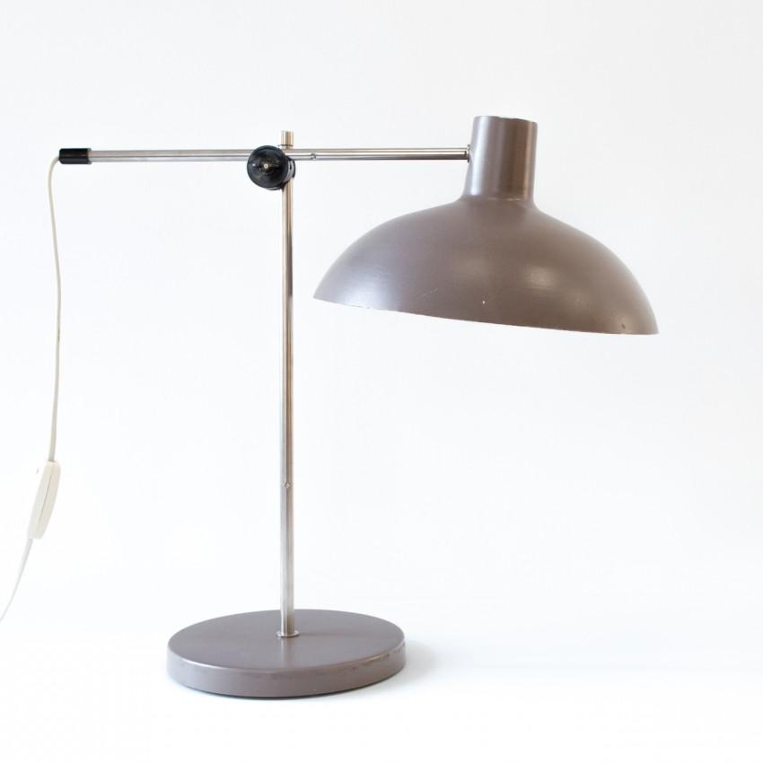 Grande lampe de bureau articulée des années 1960