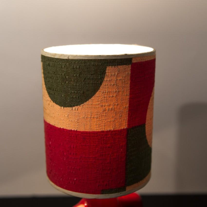 Lampe totem en céramique des années 1960