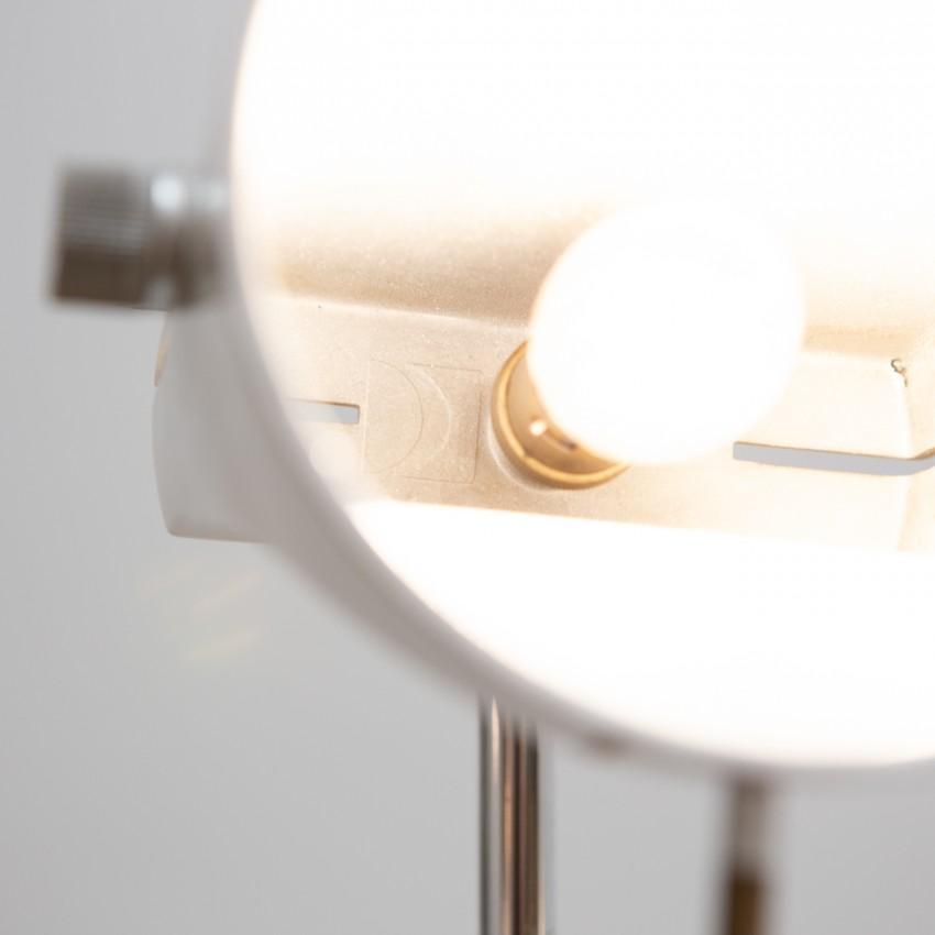 Lampadaire d'Étienne Fermigier - Estampille Disderot gravée dans l'aluminium fondu