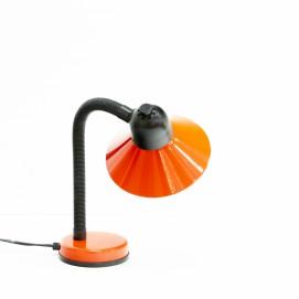 Lampe de bureau Aluminor rouge flexible en plastique