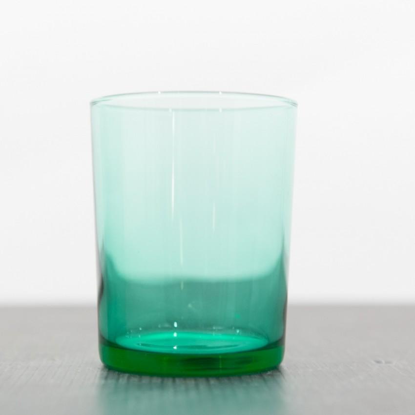 Verres Lesieur en verre vert !